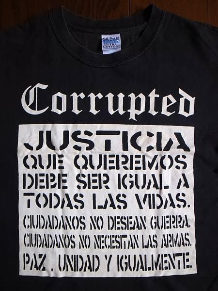 CorruptedのTシャツ endon vampillia boris grief s.o.b gauze 屍 gloom sxoxb envy brutal truth eyehategod melvins brujeria SDS gism