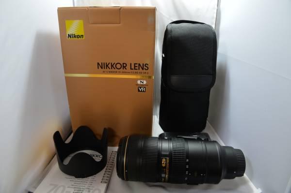☆NIKON☆AF-S NIKKOR 70-200mm f2.8G ED VRⅡ