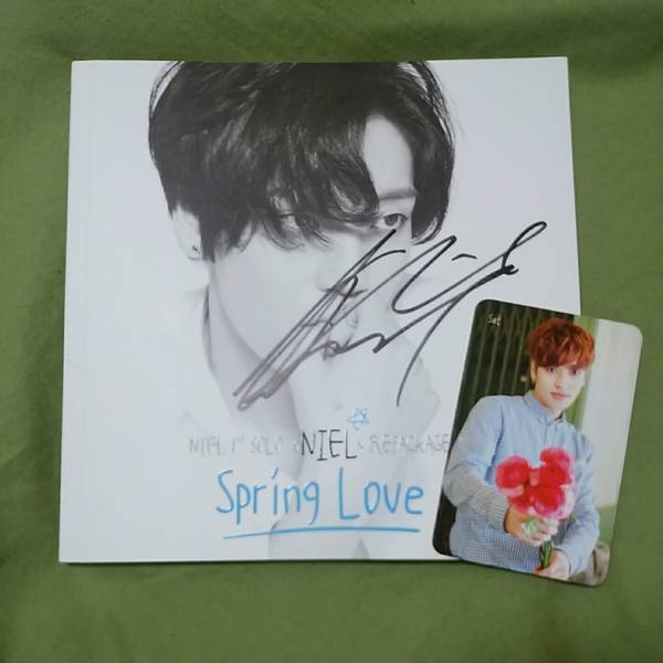 NIEL Spring Love 直筆サイン入り