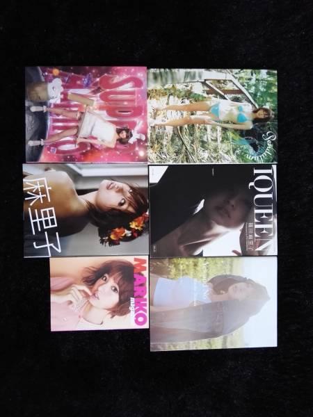 篠田麻里子写真集5冊+おまけ 美品