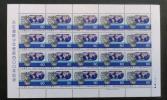 天正遣欧少年使節400年◆記念切手シート【額面1200円分】