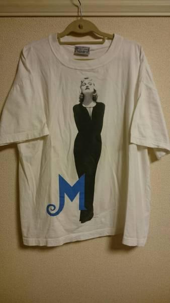 90's MadonnaヴィンテージTシャツ マドンナ ライブグッズの画像