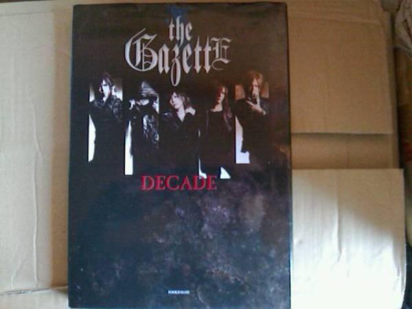 格安即決★the GazettE/10周年記念写真集『DECADE』ガゼット