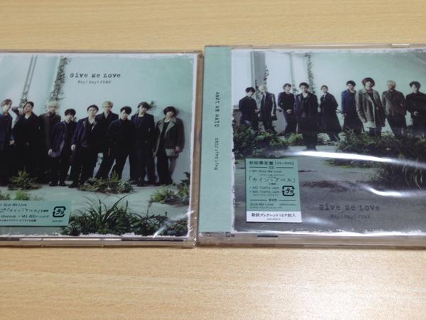 Hey!Say!JUMP Give Me Love 初回 通常 未開封 CD+DVD コンサートグッズの画像