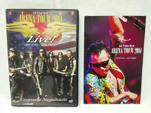 """長渕剛 TSUYOSHI NAGABUCHI""""ARENA TOUR 2014 ALL TIME BESTLive! one love, one heart ライブグッズの画像"""