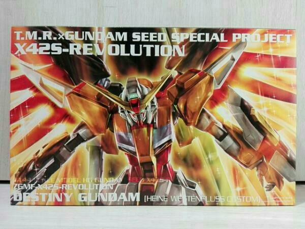 機動戦士ガンダムSEEDデスティニー ハイネ専用デスティニーガンダム ZGMF-X42S-REVOLUTION T.M.Revolution 1/144 ライブグッズの画像