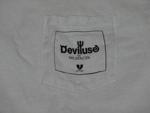 Deviluse ポケットTシャツ/デビルユース/クリスタルレイクCrystal LakeFACTSHADOWS系