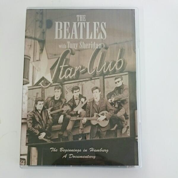 音楽DVD ビートルズ・ウィズ・トニー・シェリダン THE BEATLES with Tony Sheridan ライブグッズの画像