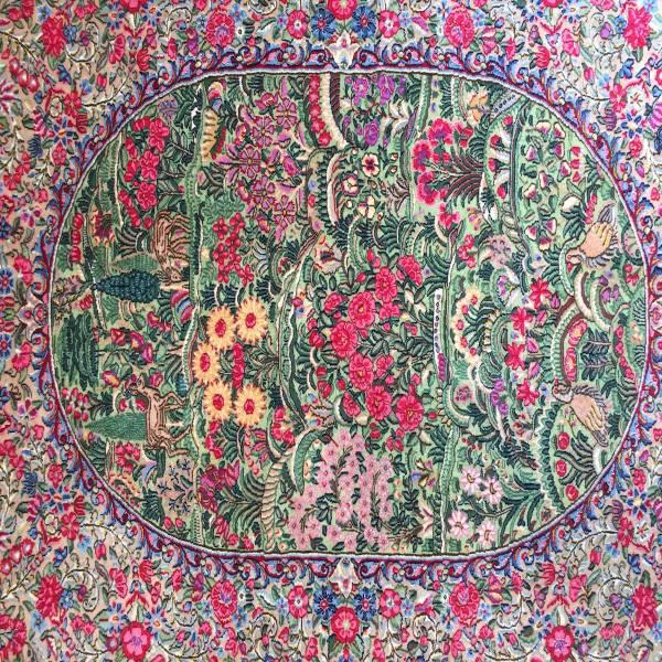 ペルシャ絨毯 ケルマン イラン 150×230cm MUSEO ウール100%_画像2