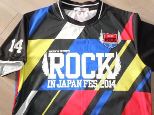 ROCK IN JAPAN FES.2014ロックインジャパンフェス Tシャツ rockin'on 半袖
