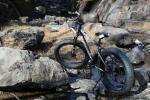 26インチ ファットバイク 自転車 (型番:SF-10) (色:マットブラック) シマノ SHIMANO21段変速機 悪路 ビーチ 新品処分
