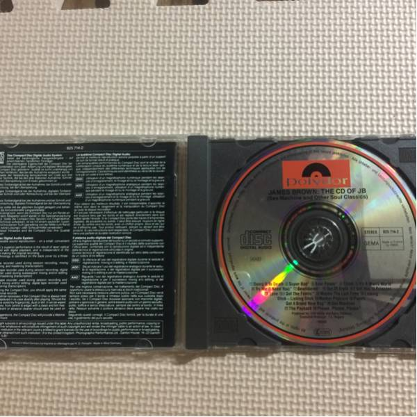 ジェームス・ブラウン CD of JB ドイツ盤 CD