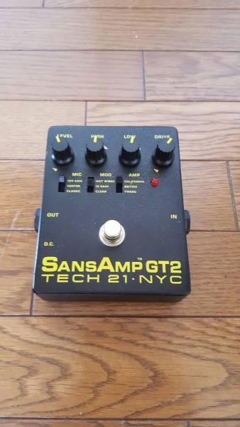古い SANSAMP GT2 TECH21.NYC 本体のみ①