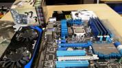 美品Core i7 2600k  ASUS P8Z77-V PRO  メモリーPSD38G1600KH [DDR3 PC3-12800 4GB 4枚組など5点セット(ビデオカード難あり)送料無料