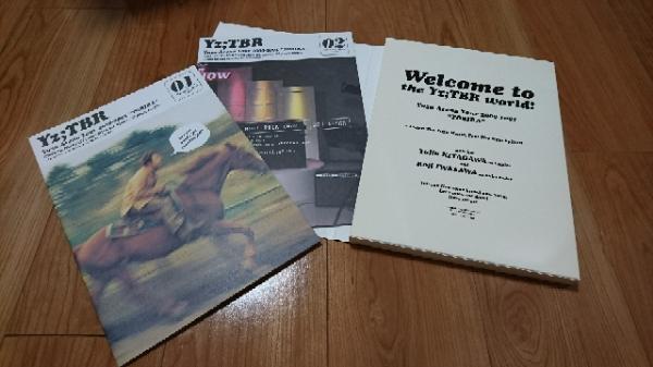 ゆず 2000-2001 トビラツアー パンフレット+チラシ ライブグッズの画像