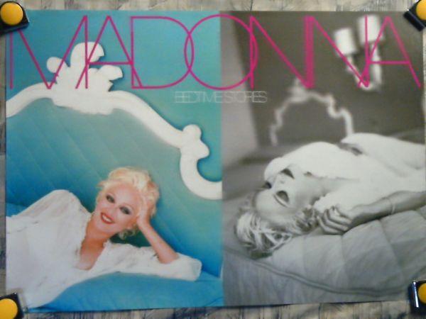p6【ポスター/B-2-515x728】マドンナ-Madonna/'94-Bedtime Stories/販促用非売品ポスター_画像1