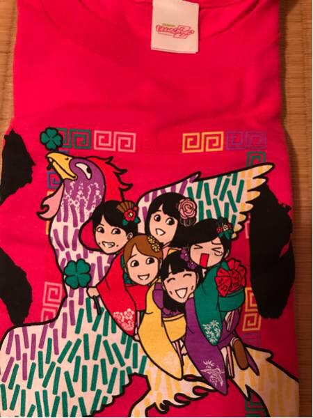 ももクロ 第二回 ゆく桃くる桃 ~年またぎ笑顔三昧~Tシャツ ライブグッズの画像