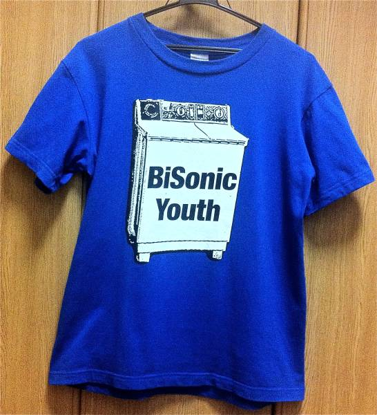BiS Tシャツ SONIC YOUTH Washing Machine Thurston Moore Free Kitten Butthole Surfers Brutal Truth 原爆オナニーズ SuG
