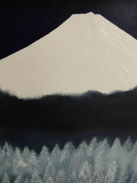 ≪国美協≫多田晴義、『富士山』、油彩画、F20号:72,7cm×60,6cm、油絵一点物、新品高級油彩額付、直筆サイン・真作保証付_新品高級油彩額付
