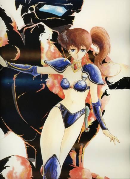 OVAに参加したアニメーターのイラストです