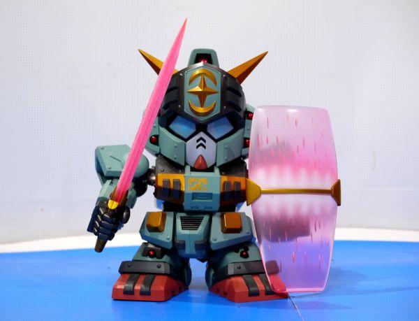 SDX 灼熱騎士ガンダム F91 騎士アレックス キングガンダム3世 聖騎兵ガンレックス_画像3