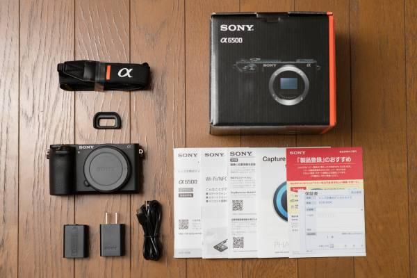 ■美品■ SONY α6500 ILCE-6500 ボディ 付属品完備 おまけ付