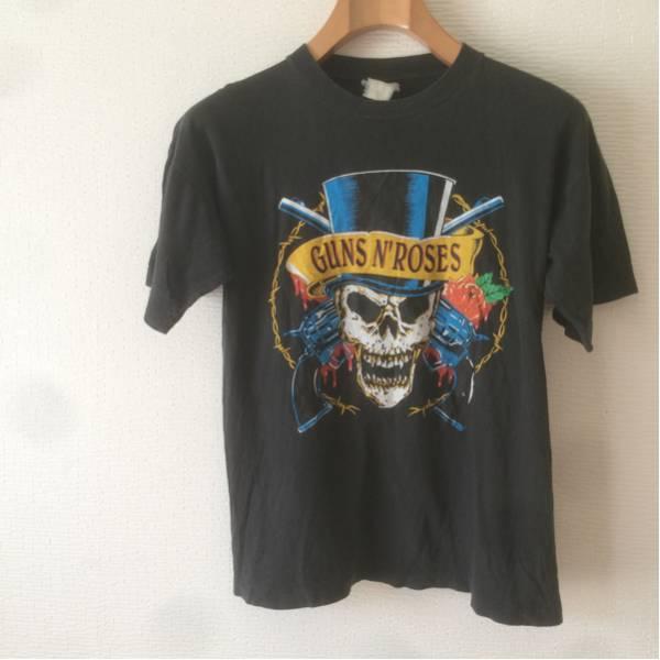 ビンテージ80sガンズアンドローゼズ バンドTシャツ ロックTシャツ ライブグッズの画像