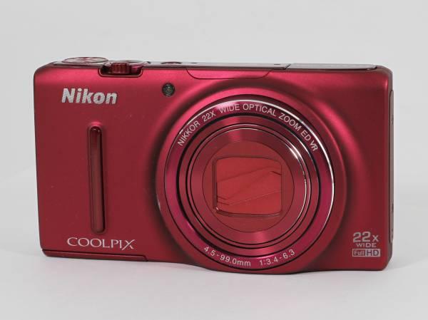 ニコン Nikon COOLPIX S9500 ★光学22倍ズーム/SDカード/予備電池