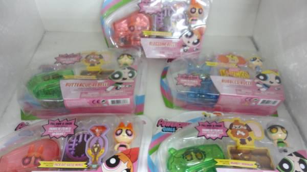 パワーパフガールズ The Powerpuff Girls フィギュア 5個 未開封 セット グッズの画像
