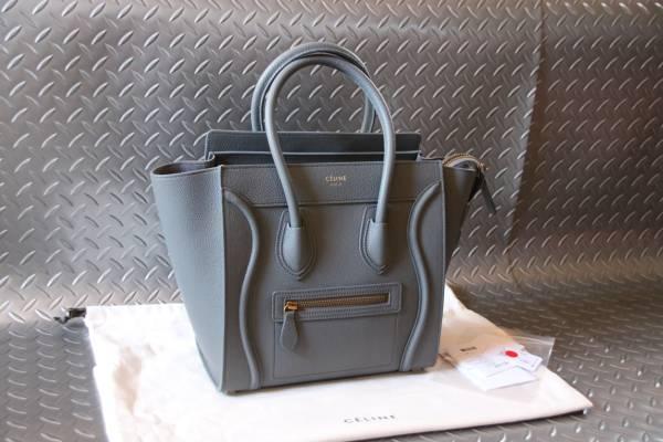 595425a7ef 代購代標第一品牌- 樂淘letao - 再入荷①点レア限定色Summer 2017 最新作 入荷  CELINE   Micro Luggage Bag    KOHL   コール  168243AQL.10KL