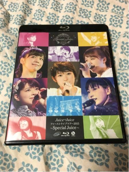 Juice=Juice ファーストライブツアー2015~Special Juice~ Blu-ray Disc ライブグッズの画像