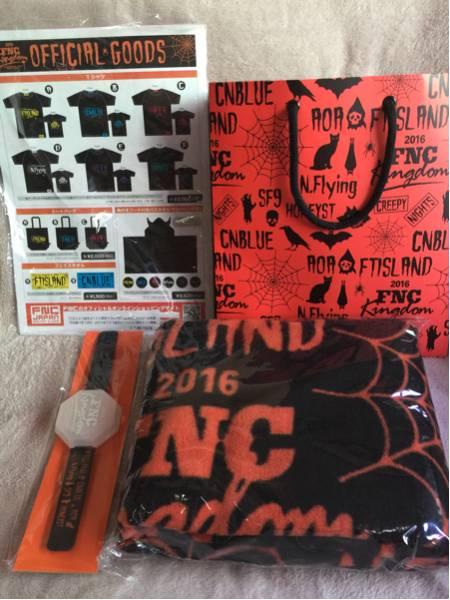 FNC KINGDOM 2016◇VIP特典ブランケット4点セット◇FTISLAND AOA Nfring CNBLUE