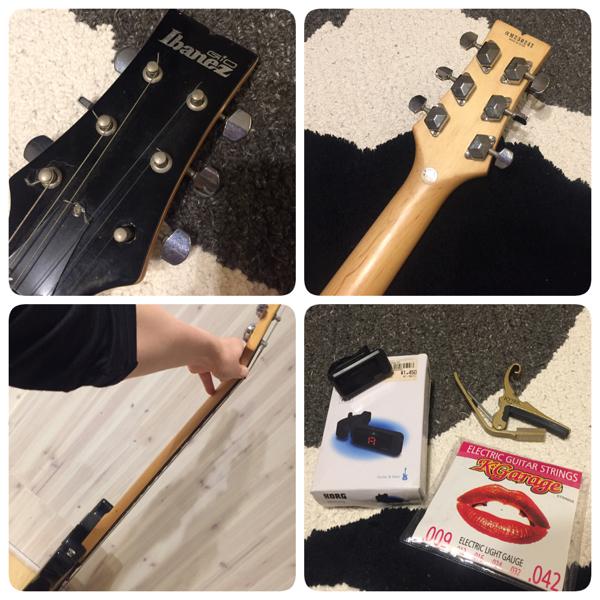 【おまけ付き】 Ibanes gio エレキギター 黒