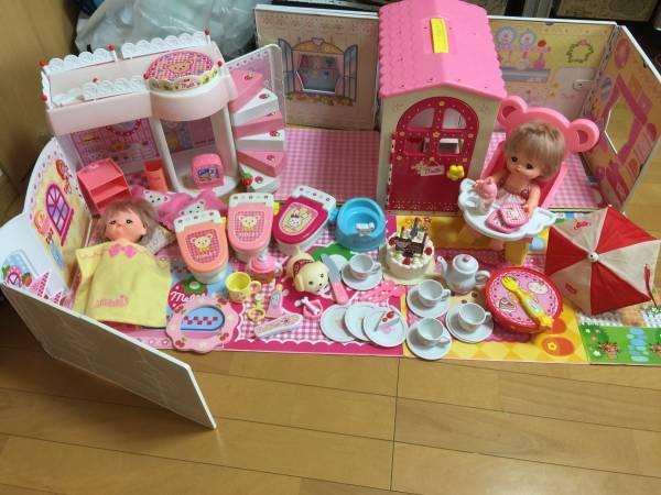 ☆メルちゃん☆まとめて 大量 セット★広がるお家 トイレ お人形 ケーキ イス ペット