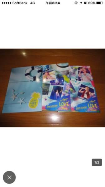 西野カナ DVD Just LOVE Tour 初回生産限定盤 送料込み ライブグッズの画像