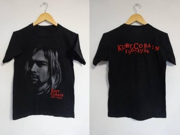 ★KURT COBAINカートコバーンTシャツ1967-1994追悼ニルバーナNIRVANAグランジ