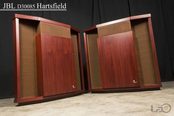 JBL D30085 HARTSFIELD ハーツフィールド (LE15A/375) & 幻の希少品・075ツィーター専用キャビ JBL C41 The Angelus 16Ω ペア_画像2