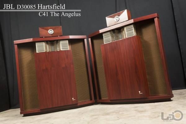 JBL D30085 HARTSFIELD ハーツフィールド (LE15A/375) & 幻の希少品・075ツィーター専用キャビ JBL C41 The Angelus 16Ω ペア