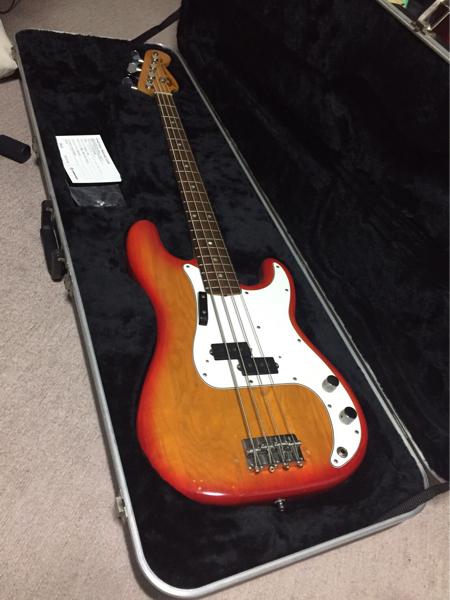 Fender usa 1980 precison bass