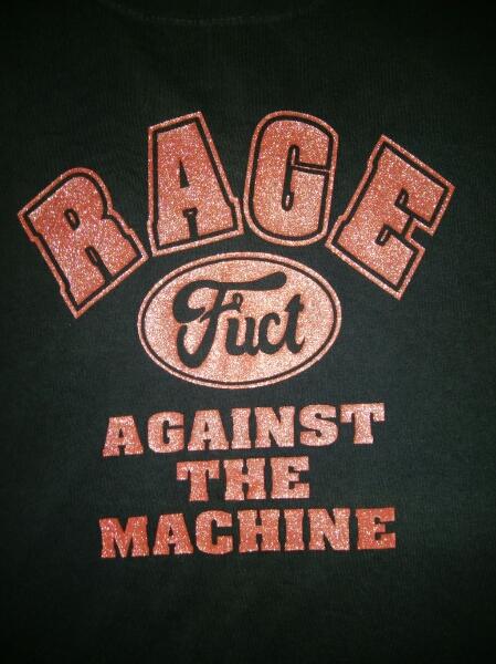 希少 90s Rage Against the Machine X FUCT Tシャツ L ラメ レア Sonic Youth Nirvana Kurt Dinosaur MELVINS Black Flag FUGAZI Vintage