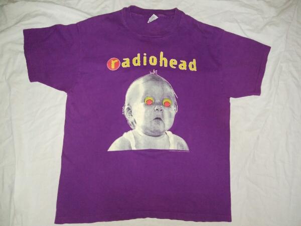 希少 1993 Radiohead PAblo HONEY TOUR Tシャツ XL オフィシャル 93' 90s Nirvana Dinosaur Jr. Sonic Youth Black Flag レア バンドT