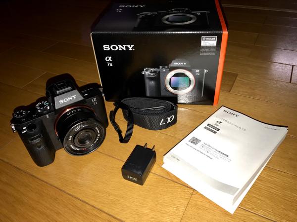 ソニー SONY 一眼レフ カメラ α7Ⅱ ILCE-7M2K SEL35F28Z ツァイスレンズ付 中古 美品