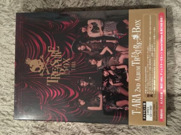新品 送料無料 T-ARA 2ND ALBUM TREASURE BOX ライブグッズの画像