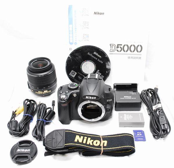 【超美品・豪華セット】Nikon ニコン D5000 AF-S NIKKOR 18-55mm VR