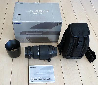 美品! オリンパス ZUIKO DIGITAL ズイコーデジタル ED 50-200mm F2.8-3.5