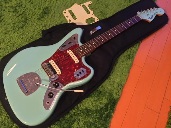 マッチングヘッド ダフネブルー Fender '62 Jaguar Factry Special Run Limited Edition フェンダー ジャガー