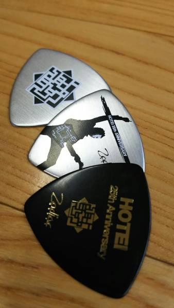 布袋寅泰 アニバーサリー ピックセット 未使用品 ギター BOOWY ライブグッズの画像