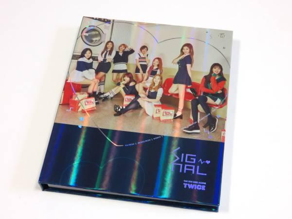 最新CD TWICE/トゥワイス チェヨン★『SIGNAL』 韓国盤 C ver. 未再生