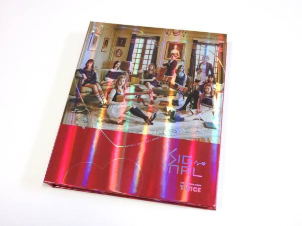 最新CD TWICE/トゥワイス ジヒョ★『SIGNAL』 韓国盤 A/A ver. 未再生