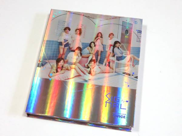 最新CD TWICE/トゥワイス チェヨン★『SIGNAL』 韓国盤 B/C ver. 未再生